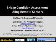 Using Remote Sensing for Bridge Evaluation - Michigan's Local ...