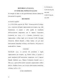 Consiglio di Stato, Sez. V - Sentenza 17 novembre ... - ER Territorio