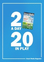 2 a Day, 20 in Play - Smart Media Technologies