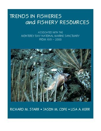 Trends in fisheries and fishery resources associated with the