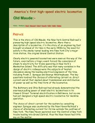 Old Maude, Preface - Virtual Railroader