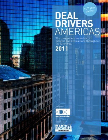 DEAL DRIVERS AMERICAS - The McLean Group