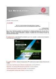 ingénierie hospitalière et ferroviaire, GPNI 2012 - Syntec ingenierie