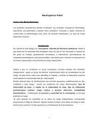 Neutropenia febril - Cátedra de Clínica Médica