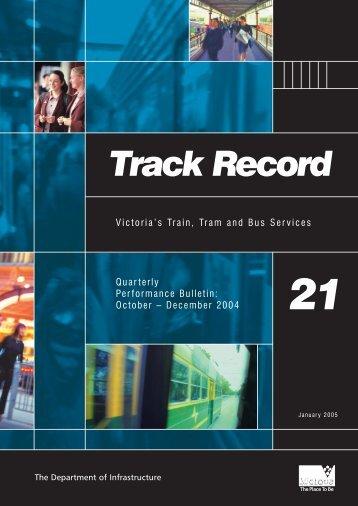 Track Record - Public Transport Victoria
