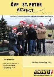 Oktober - Dezember 2011 - sankt-peter.ooevp.at