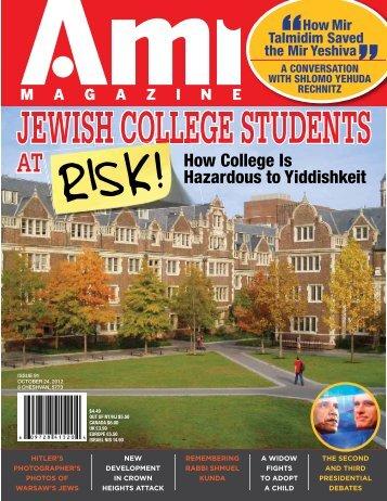 Ami Magazine #91 - Jewish E-Books