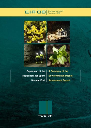 A Summary of the Environmental Impact Assessment Report - Posiva