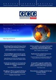 GCG: Revista de Globalización, Competitividad y Gobernabilidad ...