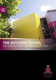 2009 Information for Parents Handbook