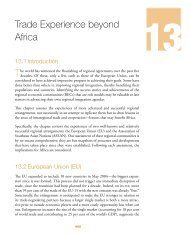 Chapter 13: Trade Experience beyond Africa - MCLI