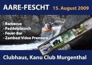 Clubhaus, Kanu Club Murgenthal