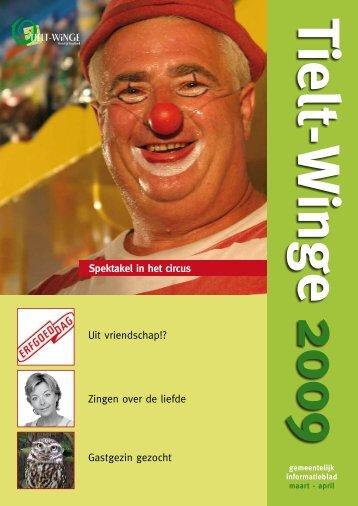 infoblad tielt-winge maart - april 2009 - gemeente Tielt-Winge
