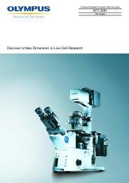 Olympus IX81 Brochure - Microscopes