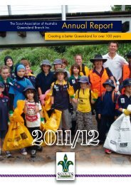 Download Annual Report 2011-12 - Scouts Queensland