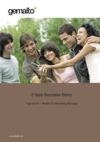 3 Italy Success Story - Gemalto