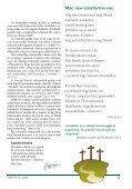"""""""... Krisztus lakjék szívetekben a hit által, a ... - Vetés és aratás - Page 3"""