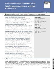 ETA-GS Merchant Acquirer and ISO Survey - 2013 - Electronic ...