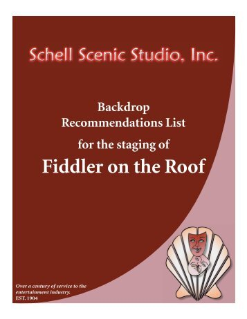 Fiddler on the Roof - Schell Scenic Studio, Inc.