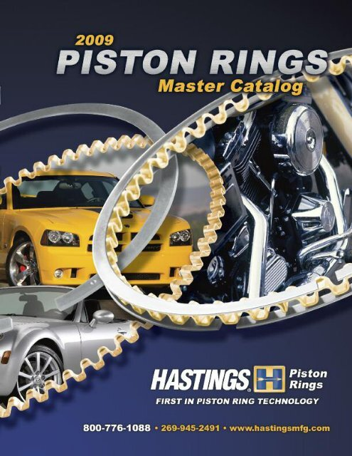 Hastings 6167S060 Single Cylinder Piston Ring Set