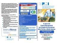 Il valore del Project Management nei Progetti di ... - PMI-NIC