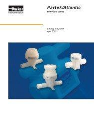 PFA/PTFE valves - regula servis