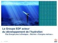 Le Groupe EDF, acteur européen du ... - Nanodata.com
