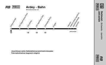 Ardey - Bahn