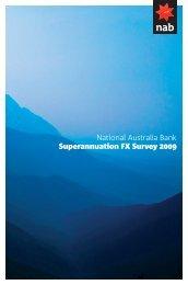 Superannuation FX Survey 2009 - Wholesale Banking - Home