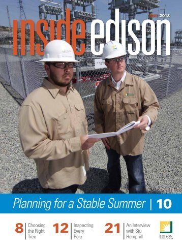Planning for a Stable Summer 10 - Inside Edison - Edison International