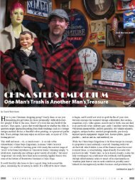 CHINA STEPS EMPORIUM - David Morrison - The Freelance Writer