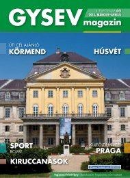 GYSEV magazin