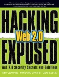 Web 2.0 Security Secrets & Solutions.pdf - Cracking