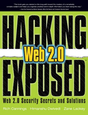 Web 2.0 Security Secrets & Solutions.pdf - Cracking