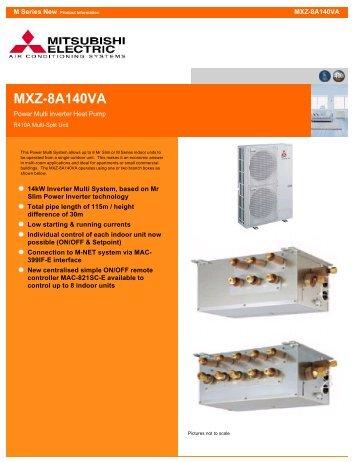 MXZ-8A140VA - AIRCO line