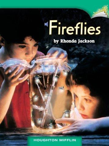 Lesson 24:Fireflies