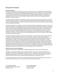 Financial Statements and Notes (PDF 705 KB) - Canadian Oil Sands