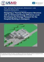 Energy Audit Report Designing a Thermal Performance ... - Tkibuli Tea