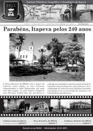Informativo IHGGI - Edição Nº 3 - IHGGI - Instituto Histórico ...