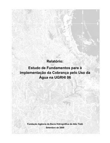 Estudo de Fundamentos para à implementação da Cobrança pelo ...