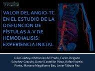 valor del angio-tc en el estudio de la disfunción de fístulas av de ...