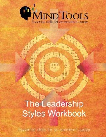 Leadership Styles Workbook