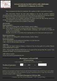 Remiremont le 25 avril 2010 - L'association des Amis de Saint ...