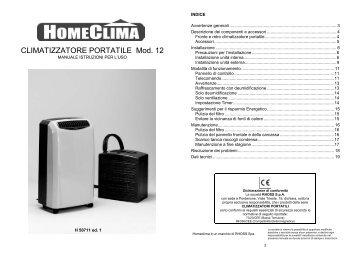 H50711-v01 Manuale Istruzioni Portatile CP12 - Rhoss