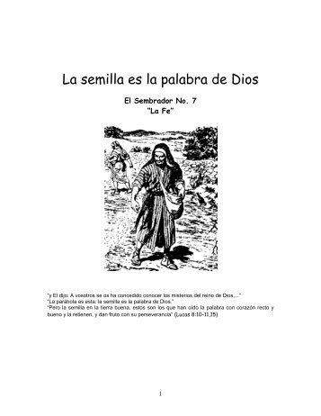 La Fe.pdf - IGLESIA DE CRISTO - Ministerios Llamada Final