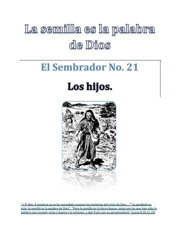 Los Hijos - IGLESIA DE CRISTO - Ministerios Llamada Final ...