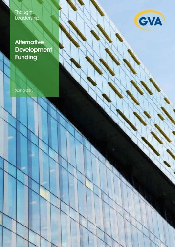 Alternative Development Funding - Spring 2013