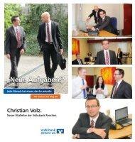 Christian Volz ist neuer Filialleiter - Volksbank Achern eG