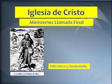 Etapas del crecimiento. - IGLESIA DE CRISTO - Ministerios Llamada ...