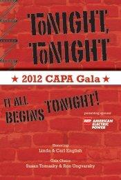 2012 CAPA Gala - Capa.com